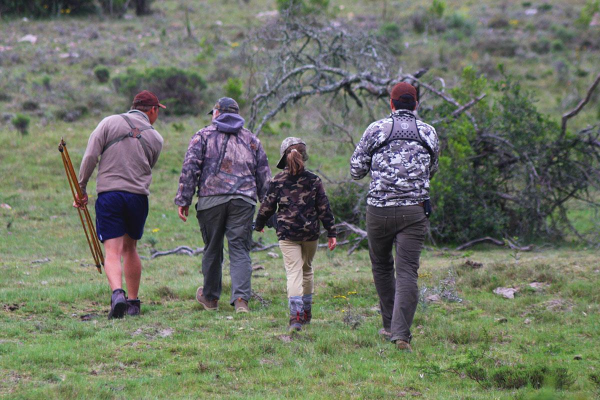 Family Safaris walk